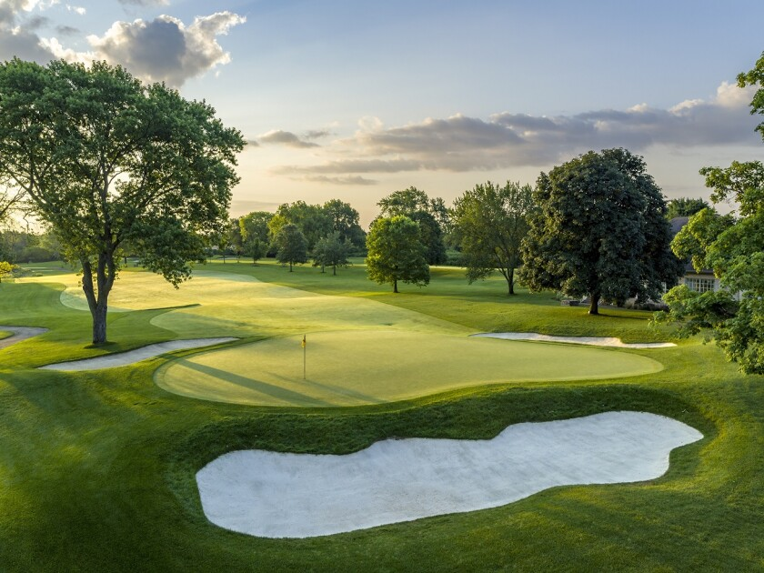 Naperville Country Club — Hole 18