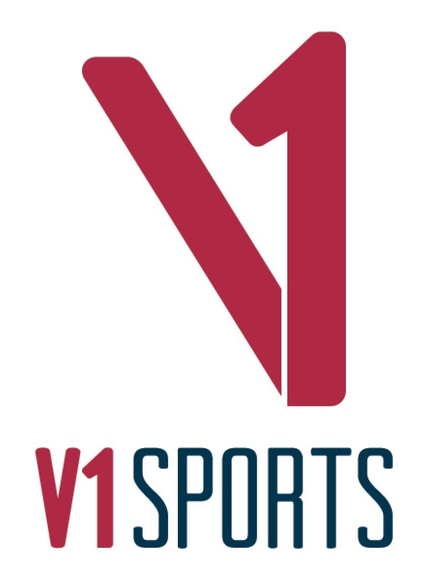 V1 Sports — Logo