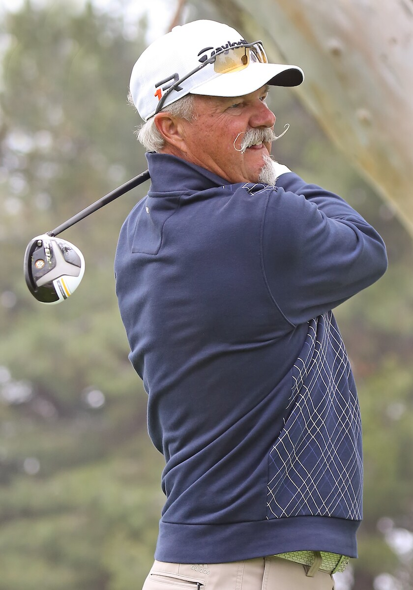 Gary McCord at the 2013 Toshiba Classic First Round