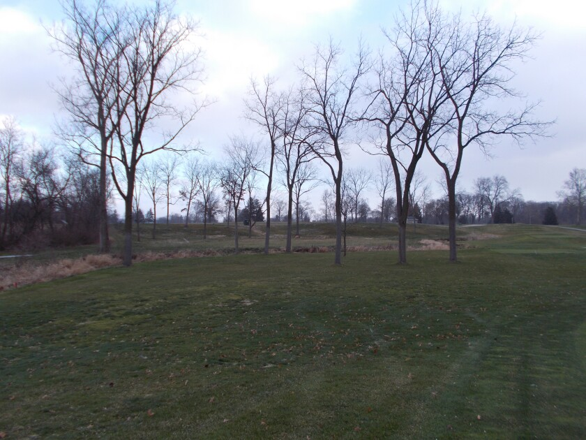 Inverness Club — 4th Hole Before Restoration