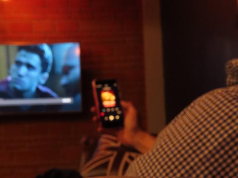 Watching TV during pandemic