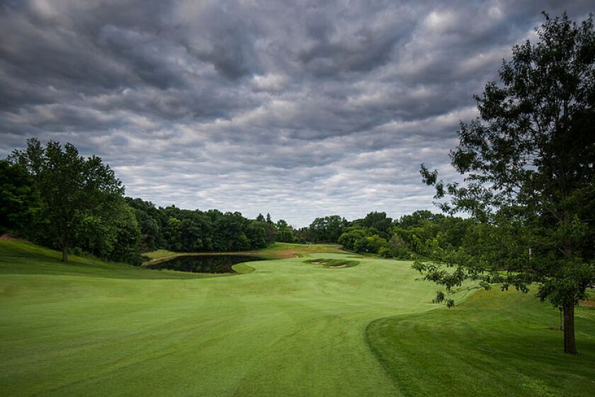 Keller Golf Course — Hole No. 12