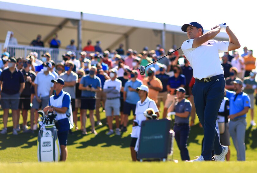Sergio Garcia leads 1st round of 2021 Players Championship