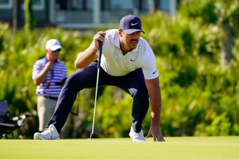 Brooks Koepka in 2nd round of 2021 PGA Championship