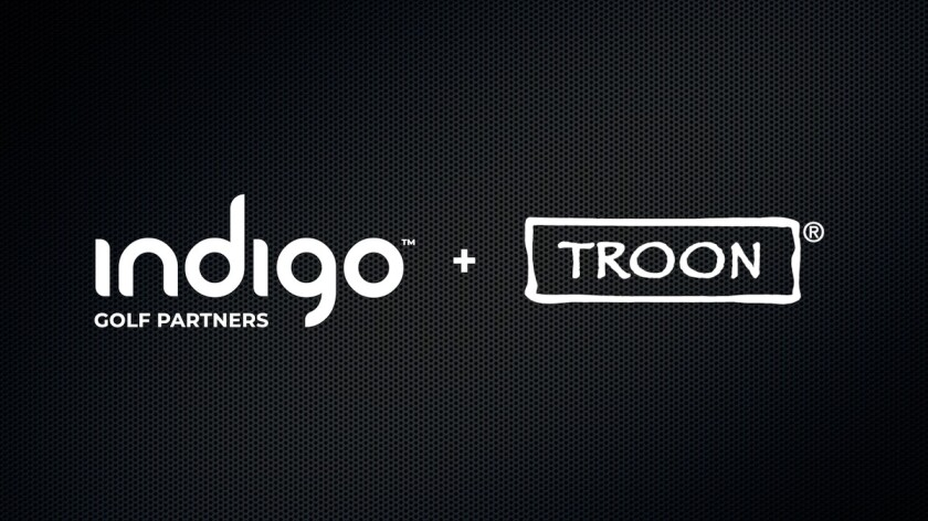Indigo Golf Partners and Troon website logo
