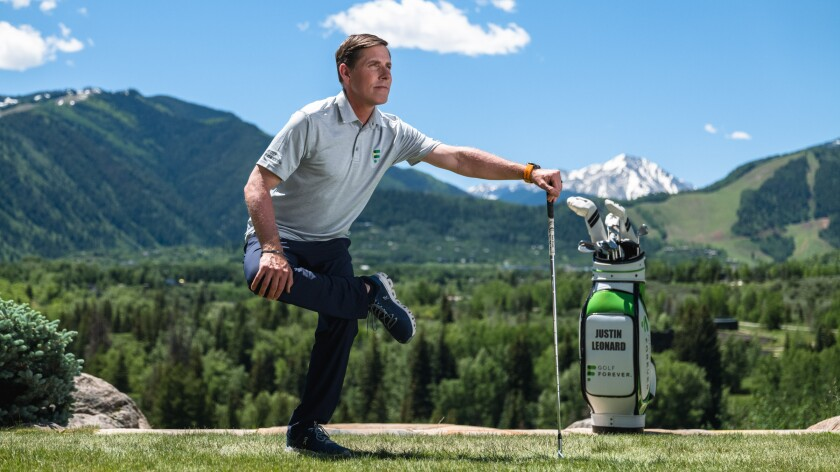 justin leonard golfforever