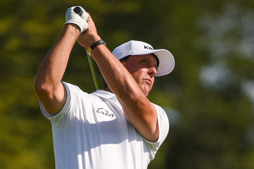 Phil Mickelson, 2019 BMW Championship