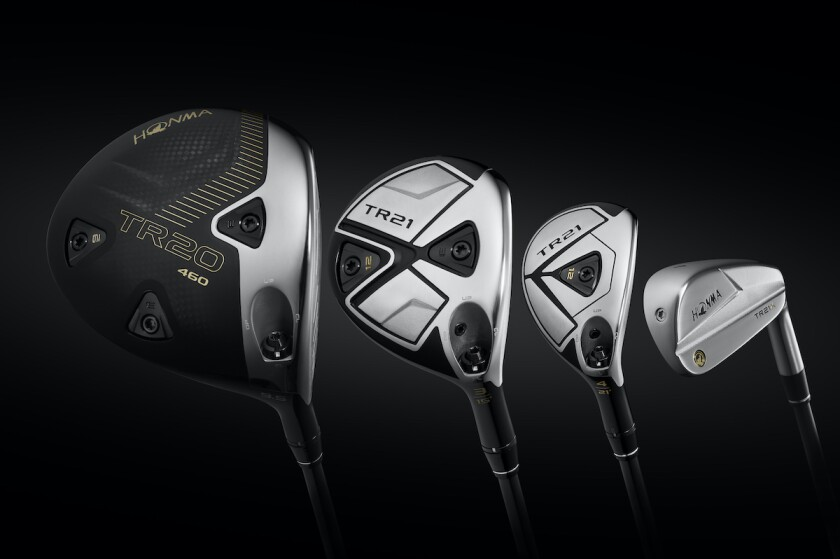 Honma TR family of clubs