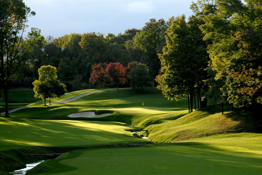 Muirfield Village Golf Club — Hole No. 11