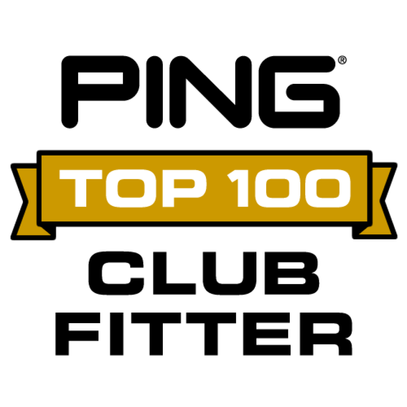 Ping Top 100 Club Fitter — Logo