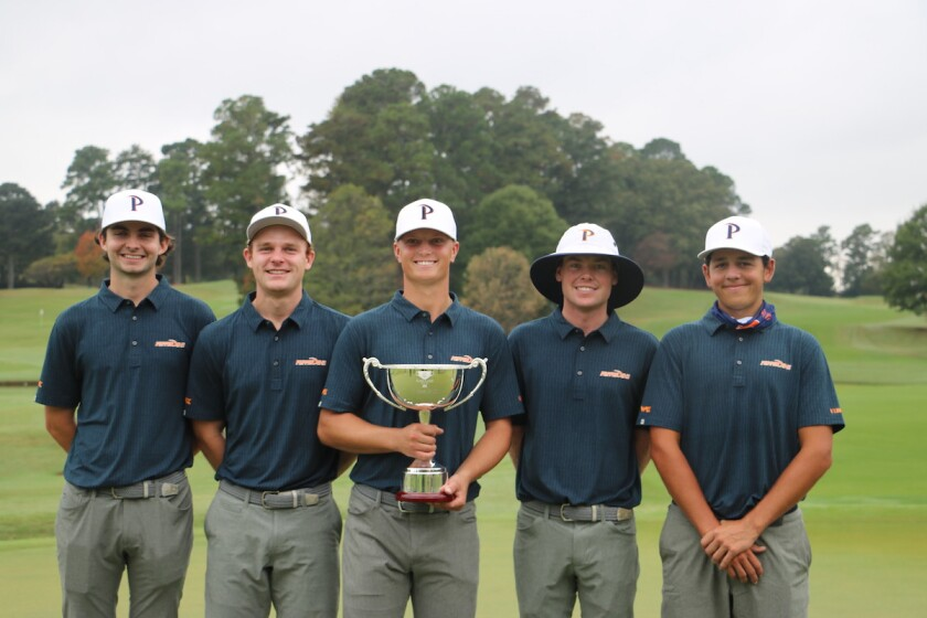 Pepperdine's men's team wins 2020 East Lake Cup