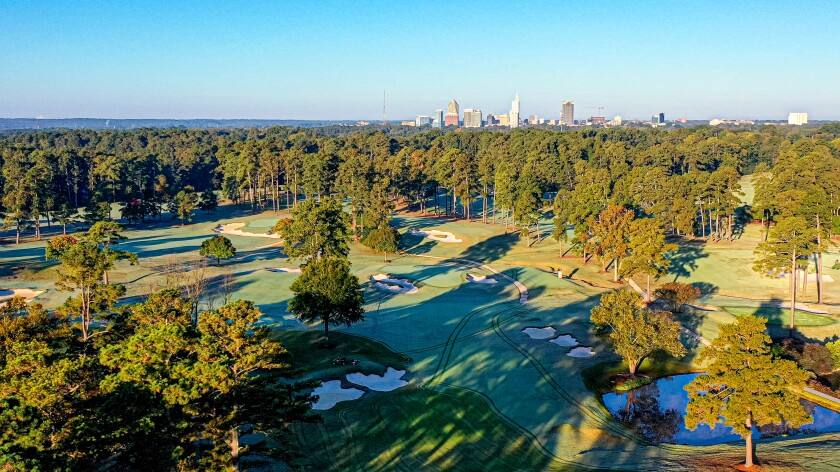 Raleigh Country Club (Drone Aerial)