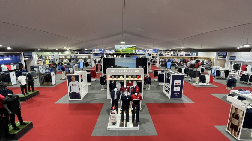 Ryder Cup Merchandise Tent — 2021 / Whistling Straits