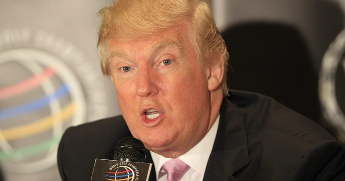 Donald Trump at the 2012 WGC Cadillac Championship at Doral's Blue Monster