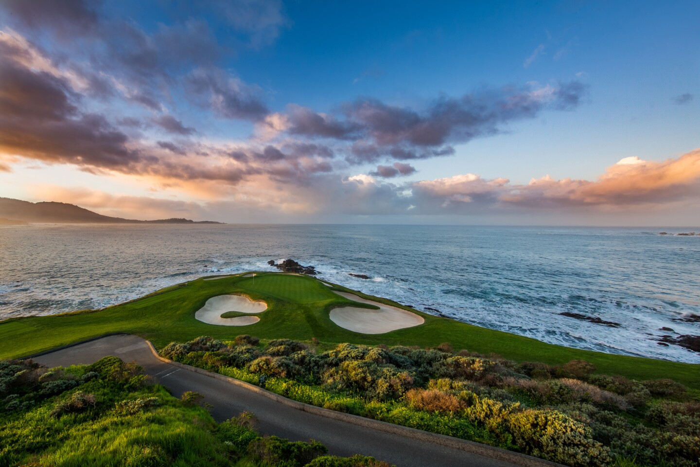 Pebble Beach Golf Links — Hole No. 7