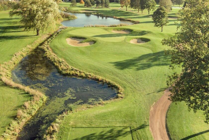 Wilmette Golf Club Hole No. 12, Par 3