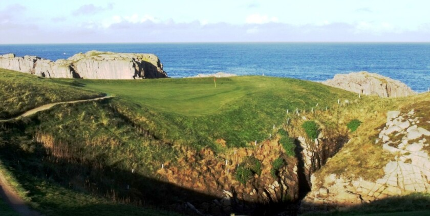 Cruit Island Golf Club Hole No. 6 Par 3