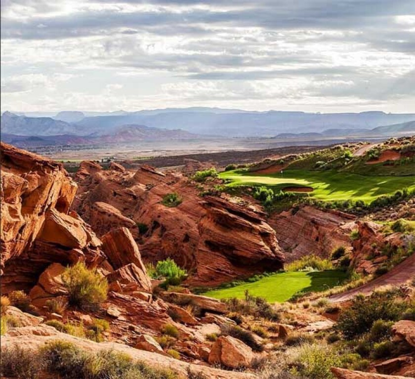 Sand Hollow Resort — Championship Course — Hole No. 15