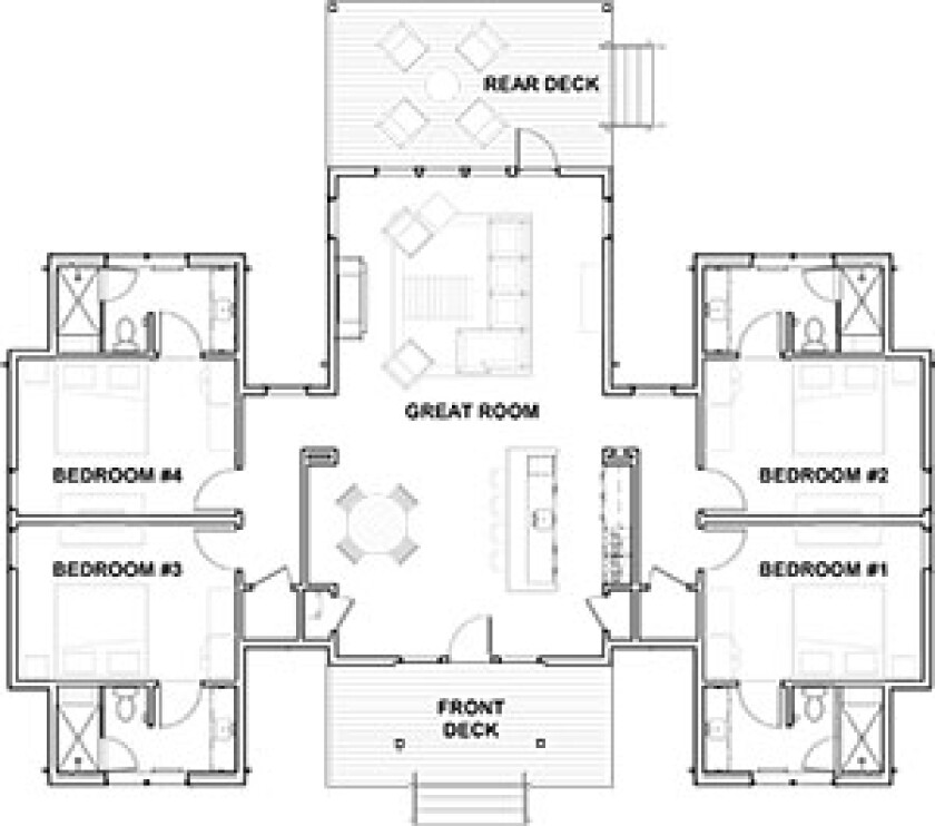 Dormie Club executive cottage plans