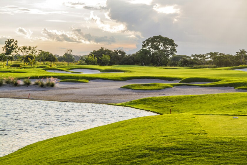 Buenaventura Beach & Golf Resort's Jack Nicklaus course