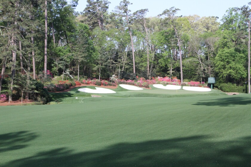 Augusta National Golf Club — Hole 13