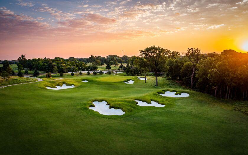 Jimmie Austin Golf Club — Hole No. 8