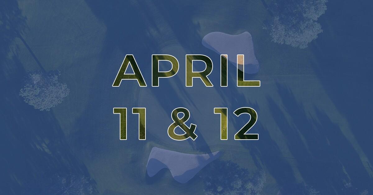 Golf News Hub - April 11 & 12 - Live COVID-19 Golf News
