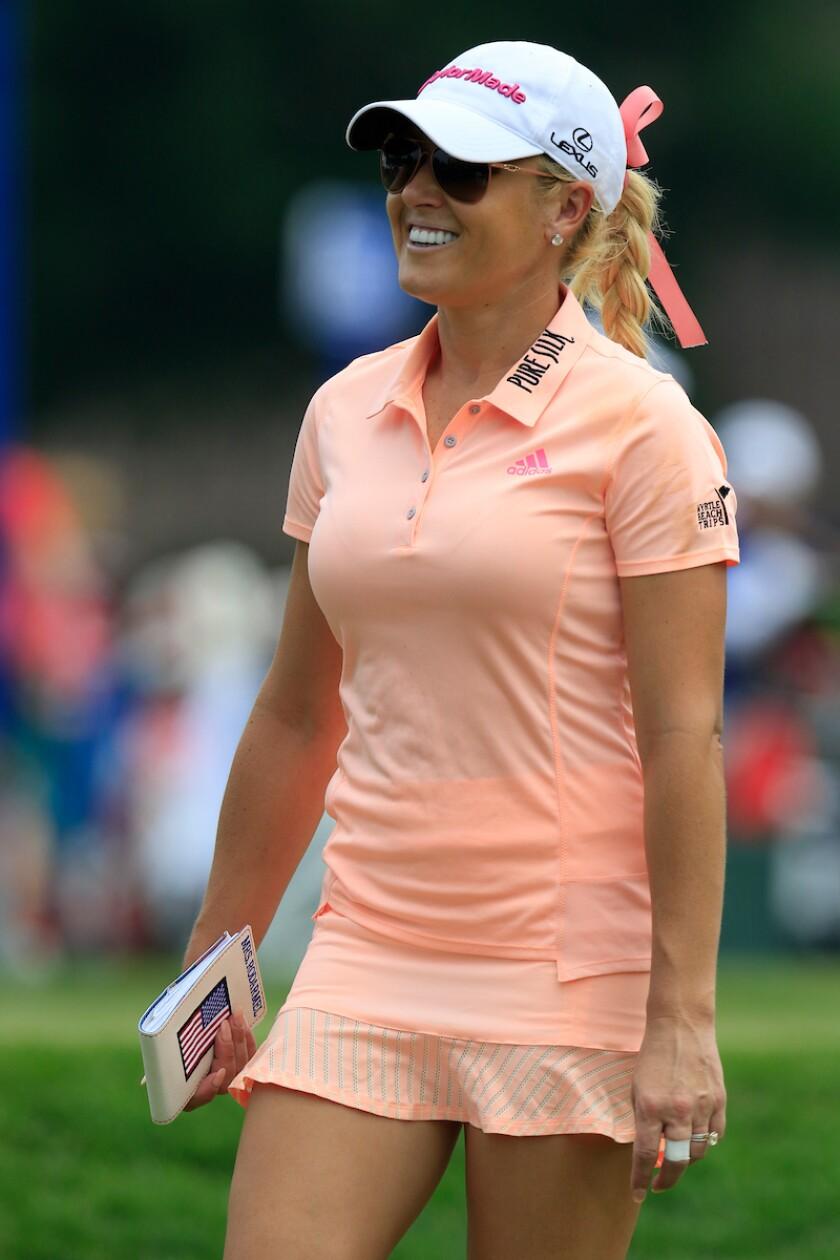 Natalie Gulbis at 2015 KPMG Women's PGA Championship