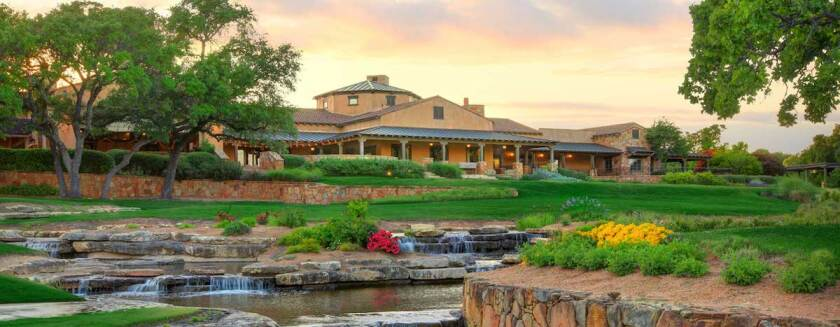 Cimarron Hills clubhouse in Georgetown, Texas
