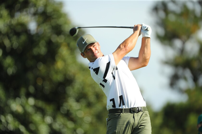 Paul Casey takes early lead at 2020 Masters