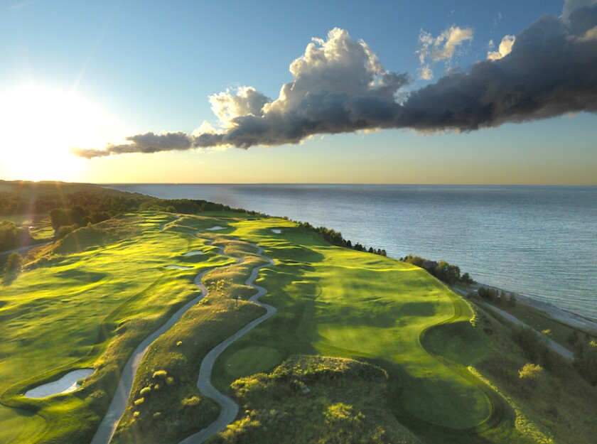7th Hole, Bay Harbor Golf Club The Links