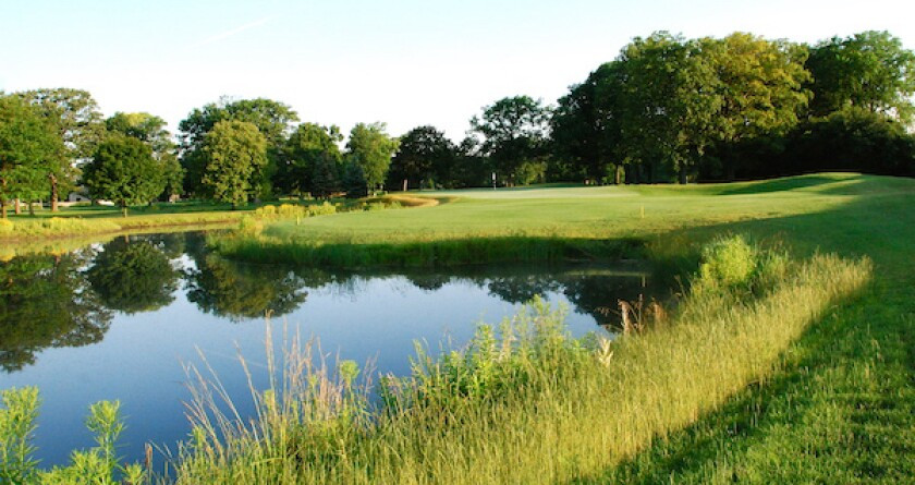 Wilmette Golf Club Hole No. 11