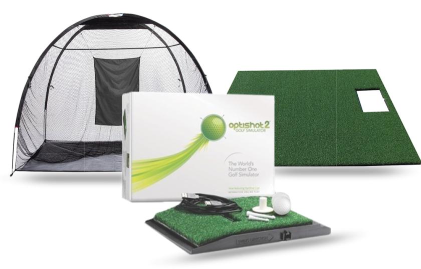 OptiShot's Golf in a Box