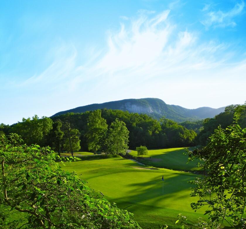 Bald Mountain Golf Course 17th hole