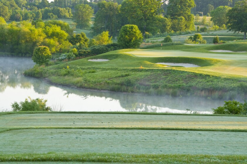 Laurel Hill Golf Club | Hole No. 16 | Par 3