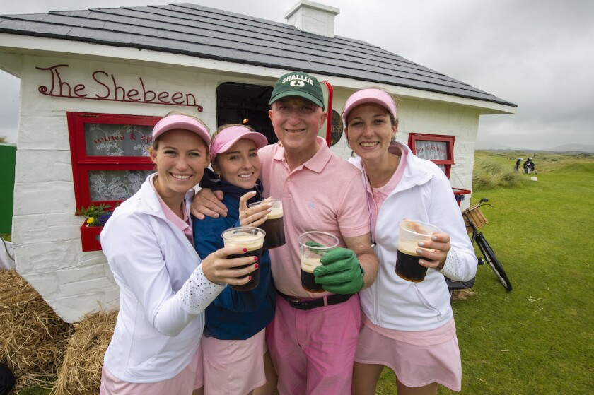 The Shalloes of Los Angeles  at the 2019 World Invitational Father & Daughter Tournament at Waterville Golf Links.jpg