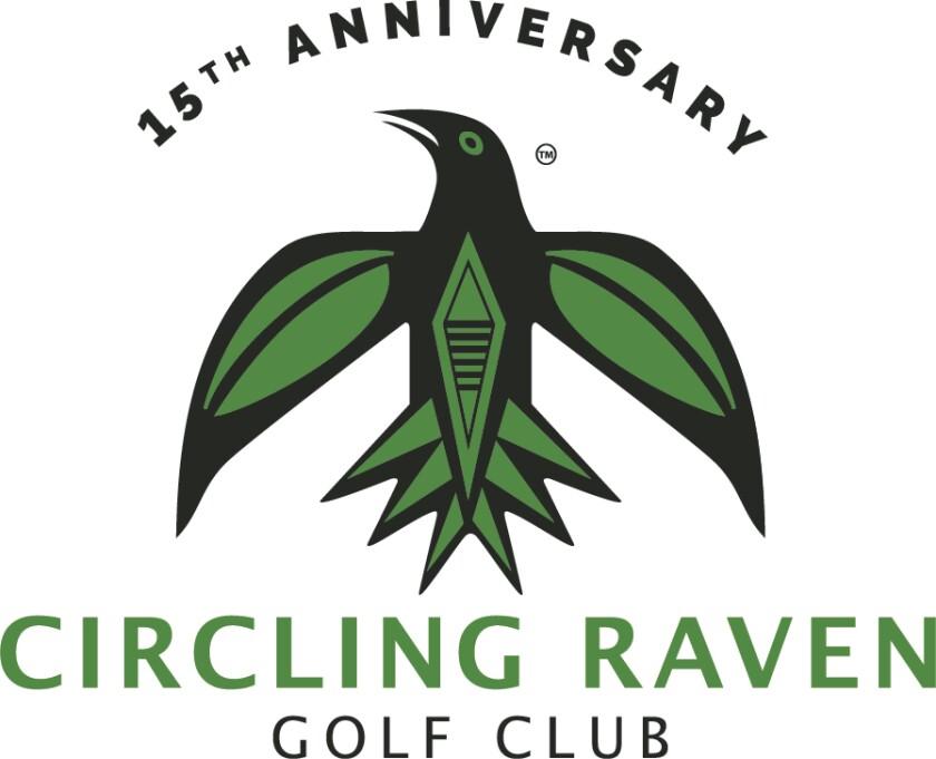 CDA Casino Circling Raven 15 Year Logo