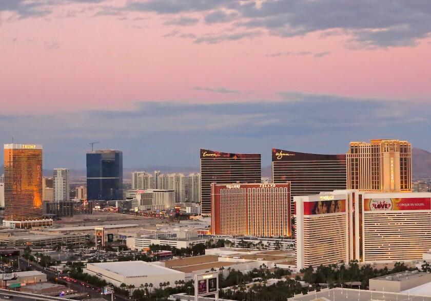 2013 Las Vegas skyline