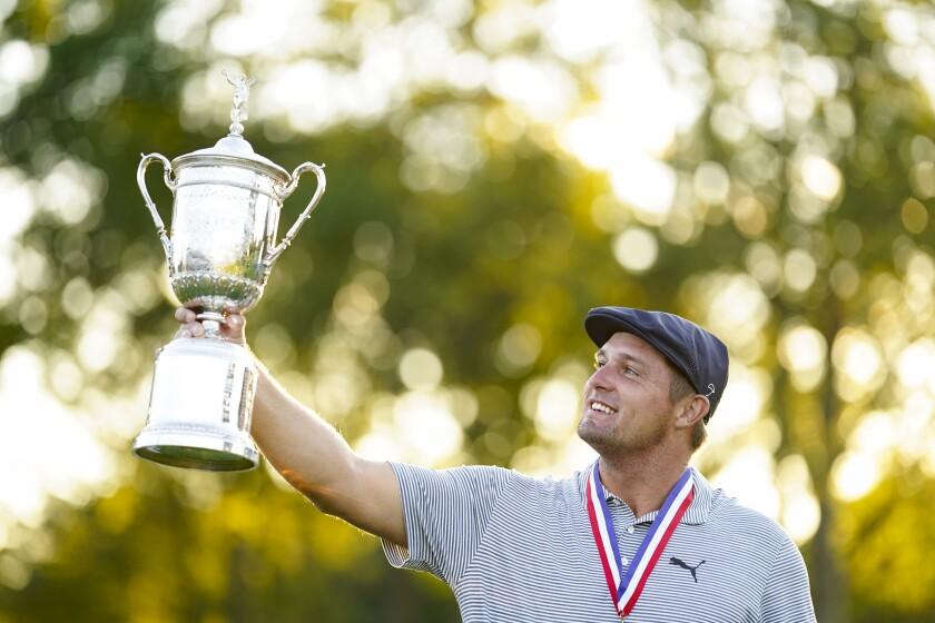 U.S. Open — Bryson DeChambeau, Trophy 2