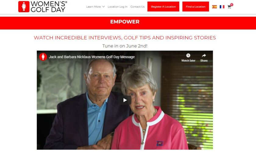 Women's Golf Day Jack and Barbara Nicklaus