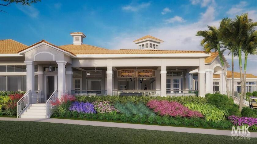 Colonial CC (Fort Myers) grille entry