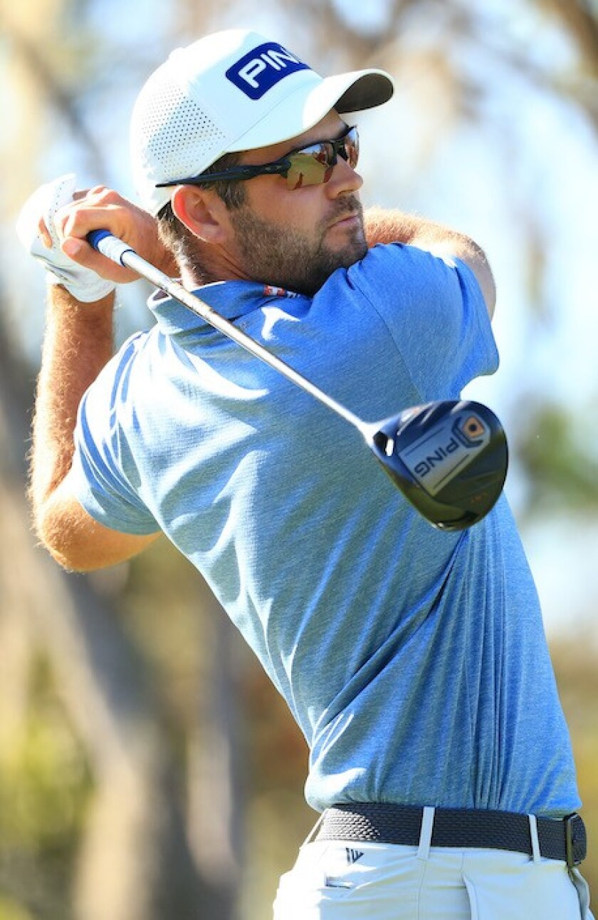 Corey Conners co-leader 1st round 2021 Arnold Palmer Invitational at Bay Hill