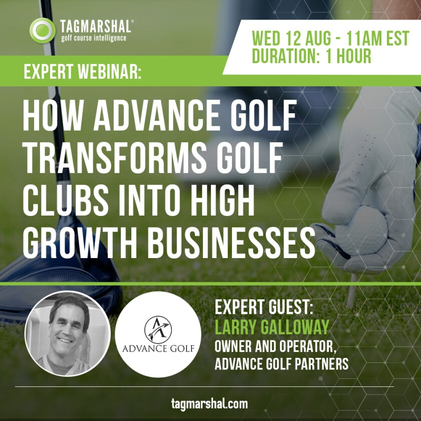 Tagmarshal webinar Advance Golf