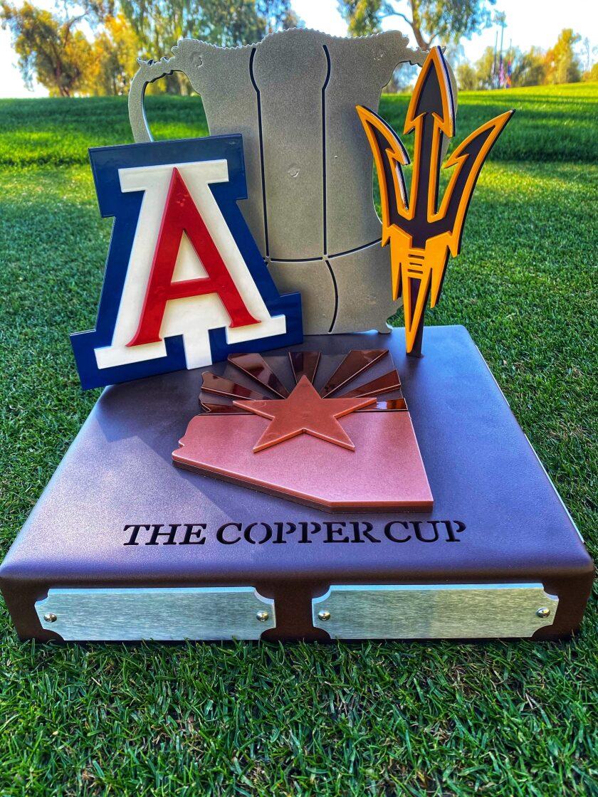 Arizona-Arizona State Copper Cup Trophy