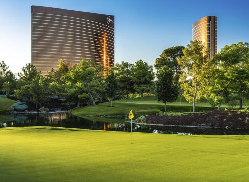 Wynn Golf Club 12th hole