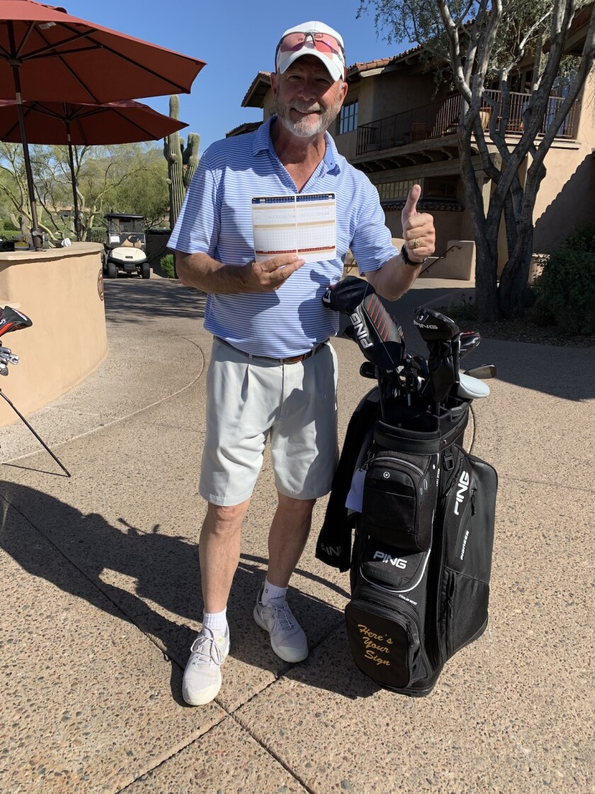 Bill Engvall golf