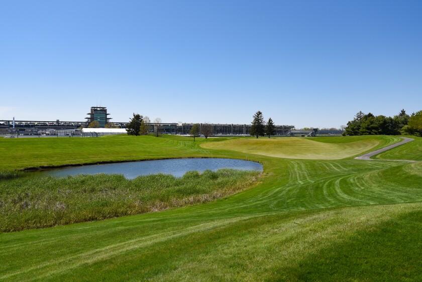Brickyard Crossing Golf Course: Hole 7