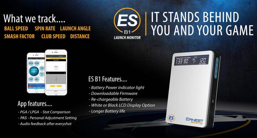 Ernest Sports ES B1 Launch Monitor