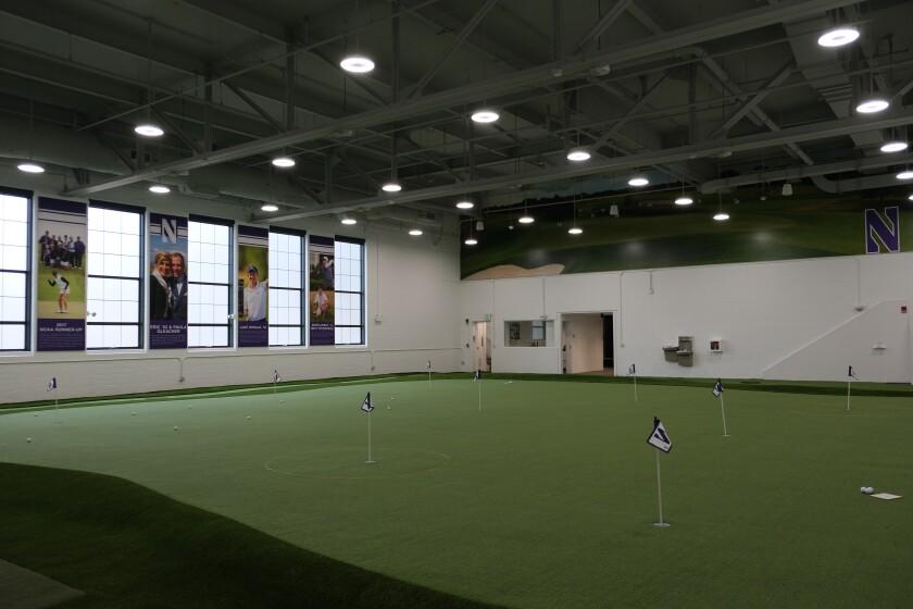 Northwestern University's Gleacher Golf Center
