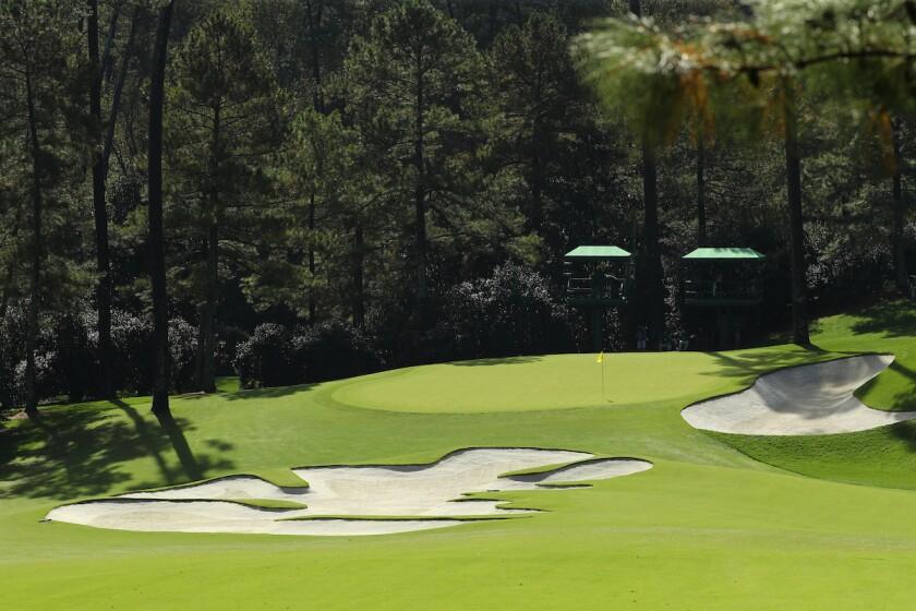Augusta National Golf Club — Hole No. 10 [Approach]